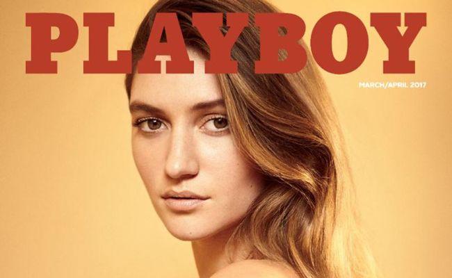 """Nach nur einem jahr zeigt die amerikanische Ausgabe des """"Playboy"""" wieder unverhüllte Models."""