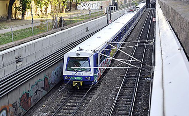 Schwelbrand in S-Bahn-Garnitur.