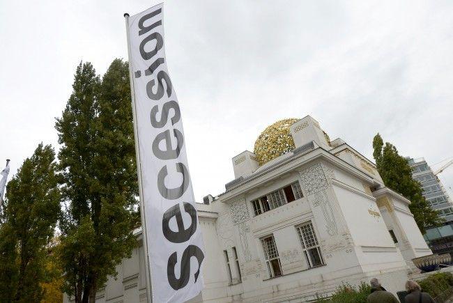 Das Golddach der Wiener Secession soll von Rost befreit werden.