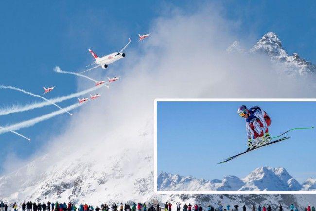 Die besten Bilder aus St. Moritz.