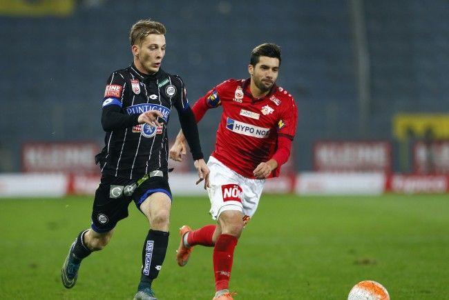 LIVE-Ticker zum Spiel SKN St. Pölten gegen SK Sturm Graz ab 16.30 Uhr.