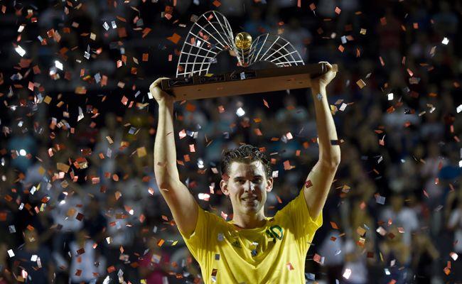 Dominic Thiem holte sich seinen bereits 8. ATP-Titel in Rio.