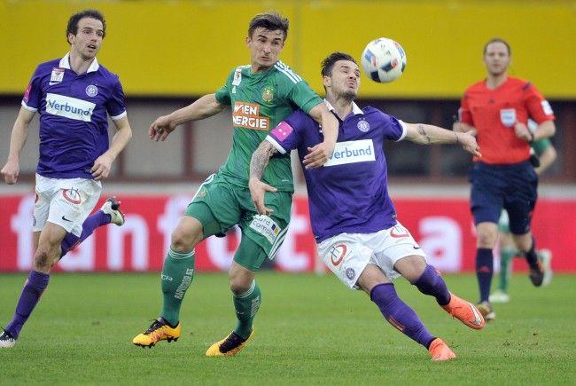 Hier können Sie das wiener Derby zwischen Austria Wien und Rapid Wien live mitverfolgen.