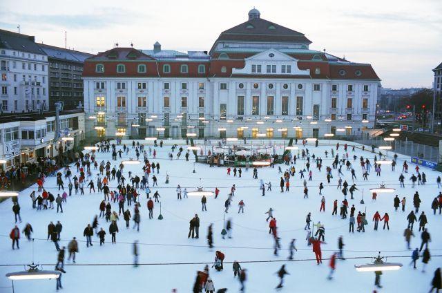 Der Wiener Eislaufverein kann auf eine lange Geschichte zurückblicken.