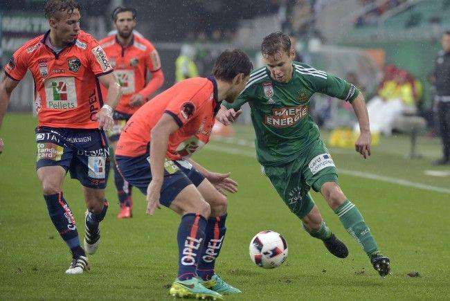 LIVE-Ticker zum Spiel WAC gegen SK Rapid Wien ab 16.00 Uhr.