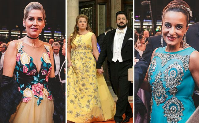 """Nun ja ... manches Kleid am Opernball war durchaus """"einmalig""""."""