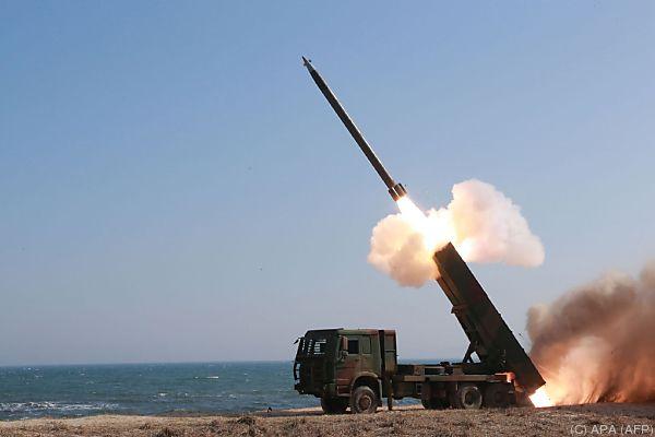 Nordkorea testet unentwegt Raketen