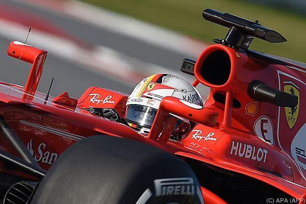 Starke Leistung von Vettel und seinem Boliden