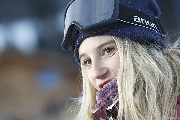 Anna Gasser souverän