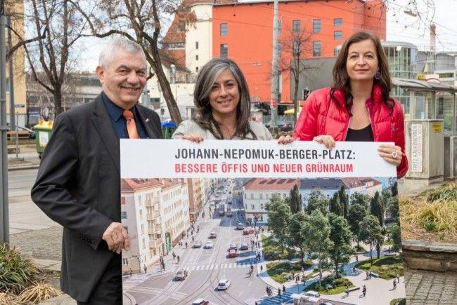 Der ohann-Nepomuk-Berger-Platz in Wien wird umgestaltet.