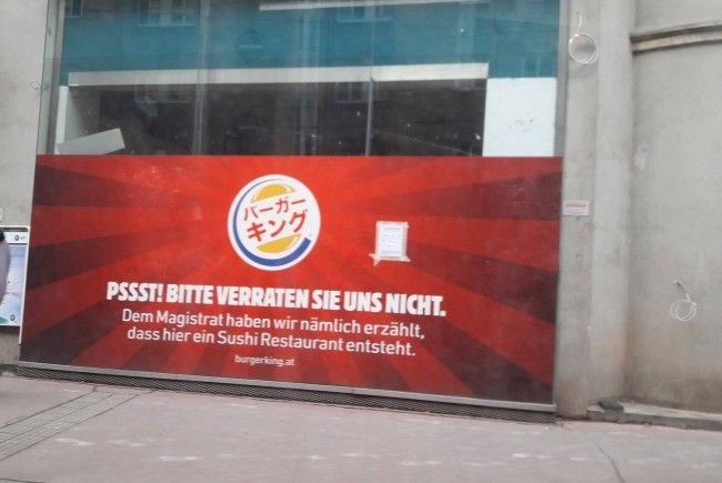 Am Hernalser Elterleinplatz eröffnet eine Burger King Filiale.