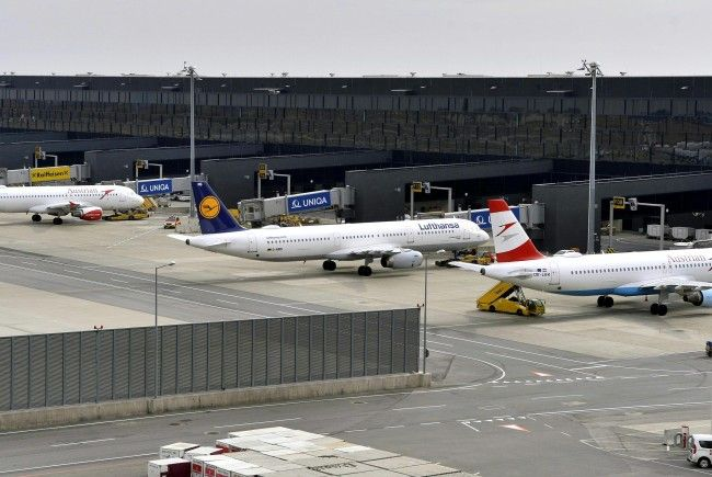 Der Flughafen Wien darf sich über einen Gewinn in dreistelliger Millionenhöhe freuen.