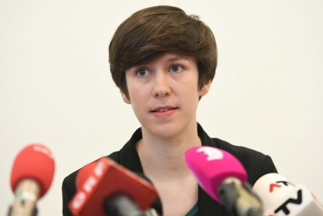 Die Bundessprecherin der Jungen Grünen, Flora Petrik.