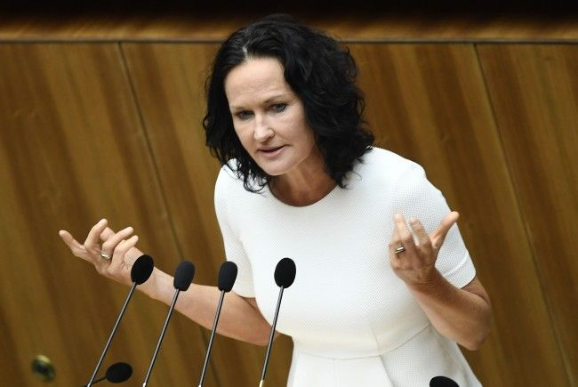 Grünen-Bundessprecherin Eva Glawischnig.