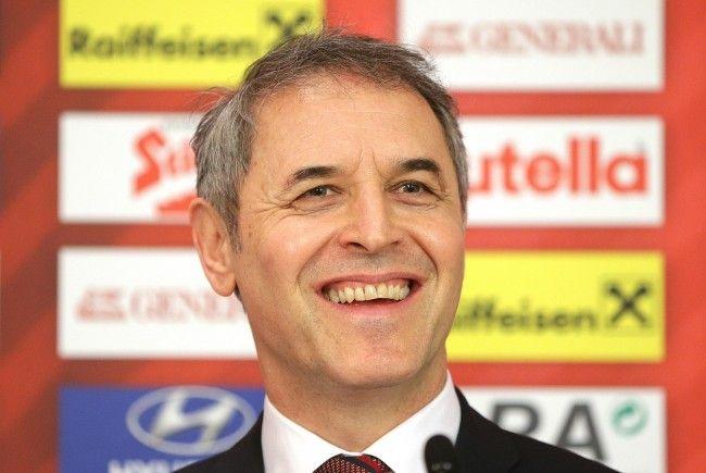 Österreichs Teamchef Marcel Koller.