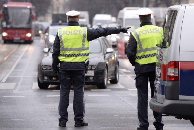Staus und Sperren wegen Demo am Mittwochnachmittag in Wien.