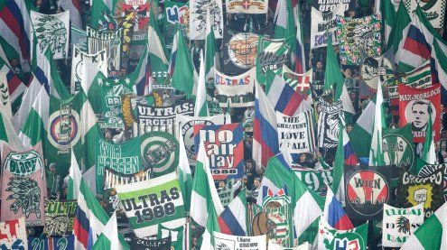 Benefizspiel: Rapid gegen Vienna