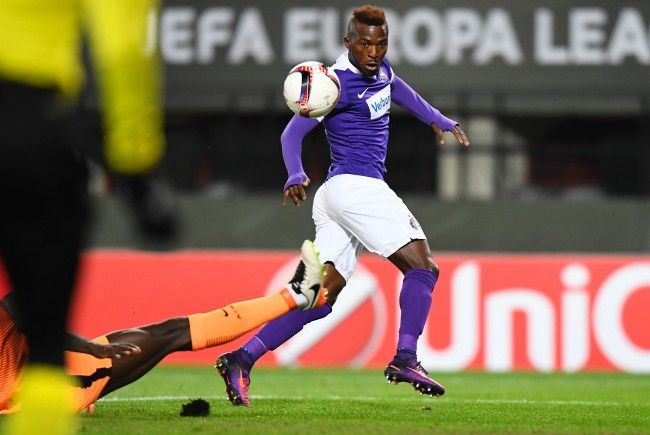 Austria-Stürmer Kayode erstmals im nigerianischen Nationalteam.