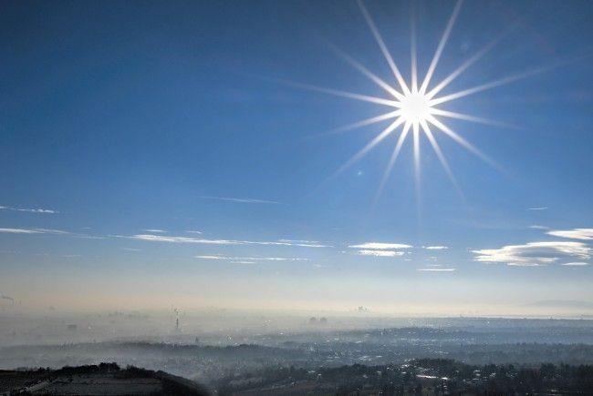 Der Blick vom Cobenzl auf Wien