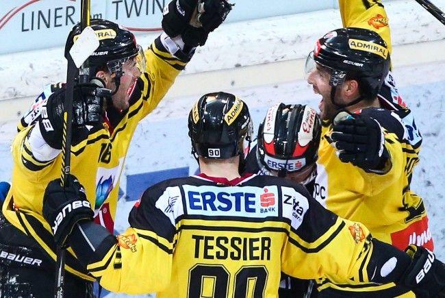Die Vienna Capitals stehen im EBEL-Halbfinale.