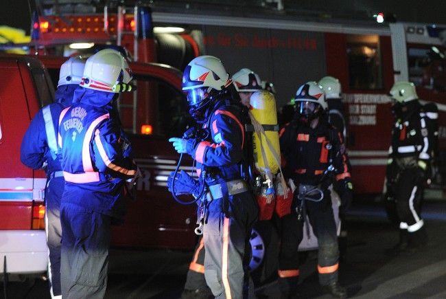 Bei einem Gasaustritt wurden zwei Mieter verletzt