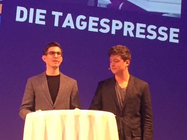 Die Tagespresse live bei den Adgar Awards