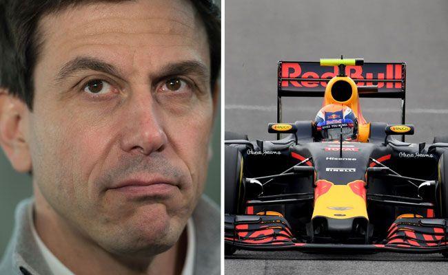 Red Bull wirft Mercedes Betrug vor.