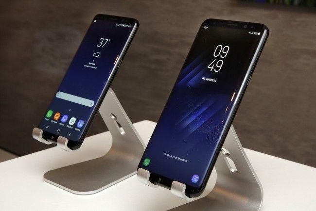 Das neue Samsung Galaxy S8 wurde vorgestellt.