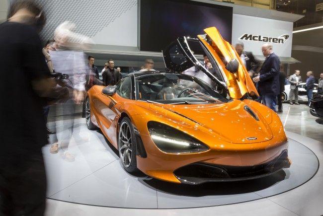 In Genf werden derzeit wieder die Auto-Neuheiten präsentiert.