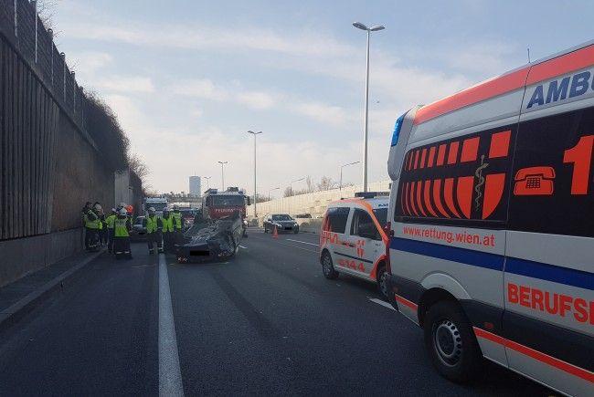 In der Donaustadt kam es zu einem Verkehrsunfall