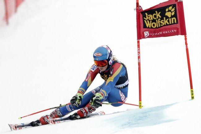 Shiffrin feierte beim Riesentorlauf in Squaw Valley einen knappen Heimsieg.