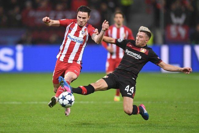 Atlético Madrid empfängt Bayer Leverkusen am späten Mittwochabend.