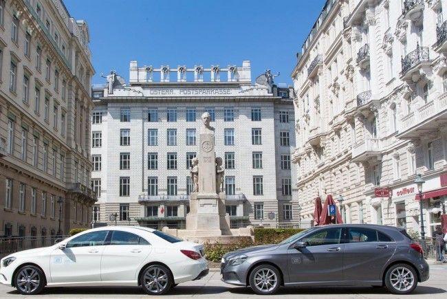 Neue Mercedes-Wägen bei car2go.
