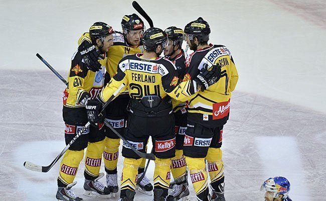Kurs aufs Halbfinale für die Vienna Capitals.