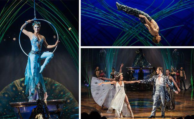 """""""Amaluna"""" begeisterte das Publikum bei der Premiere in Wien"""