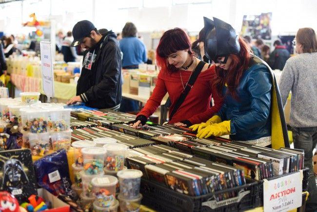Bei der Vienna Comix Market kommen Sammler voll auf ihre Kosten
