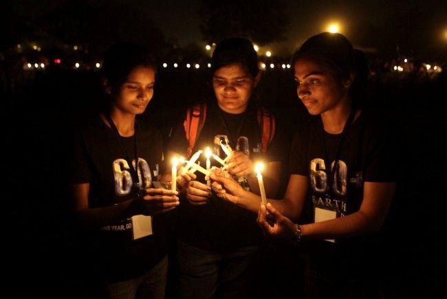 Bei der Earth Hour verzichten 178 Länder weltweit auf Strom