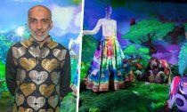 Swarovski-Designs von Designer Manish Arora