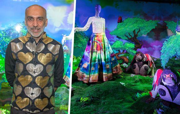 Die Designs des indischen Modedesigners können in Wien, Innsbruck und Wattens bewundert werden.
