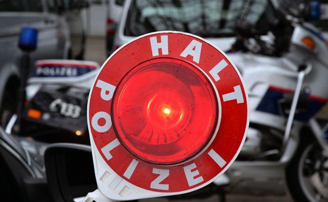 Der Fahrzeugdieb konnte von der Polizei gestoppt werden.