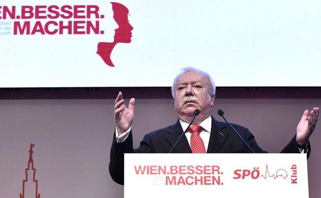 Häupl bei der Klubtagung der Wiener SPÖ in Wien
