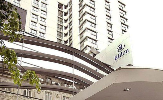 Ort des Geschehens war das Hotel Hilton in der Landstraßer Hauptstraße.