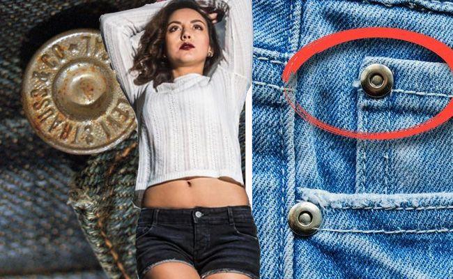 Warum sind die Knöpfe auf der Jeans?