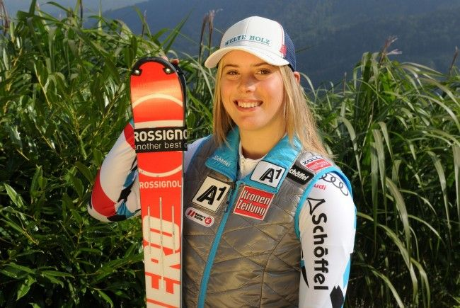 """Silber-Kathi"" fiel im WM-Slalom aus"