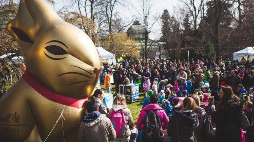 Das Lindt Goldhasen-Fest 2017