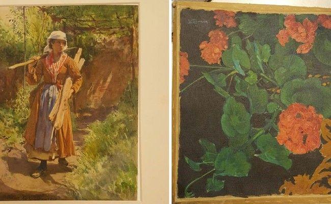 Diese Bilder wurden aus der Villa in Hietzing gestohlen