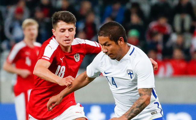 Österreich und Finnland trennten sich in Innsbruck 1:1.