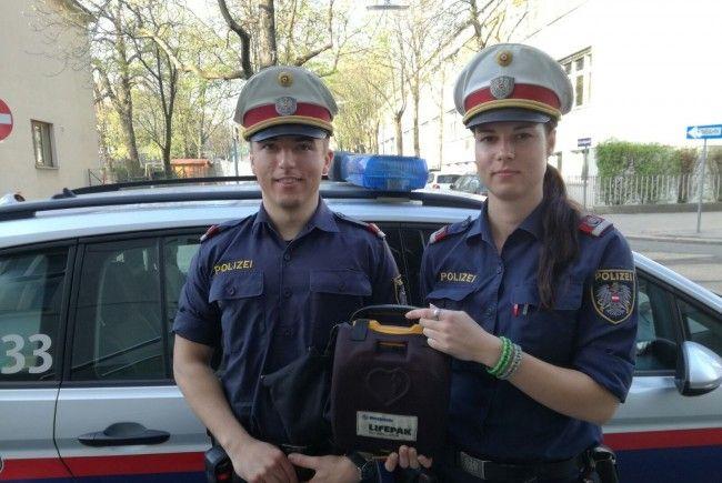 Polizisten waren diese Woche als Lebensretter unterwegs.