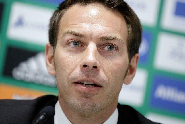 Wirtschafts-Geschäftsführer Christoph Peschek sprach über das Rapid-Budget