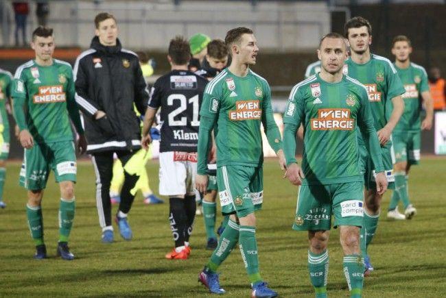 Rapid trifft am Sonntag auf RB Salzburg.